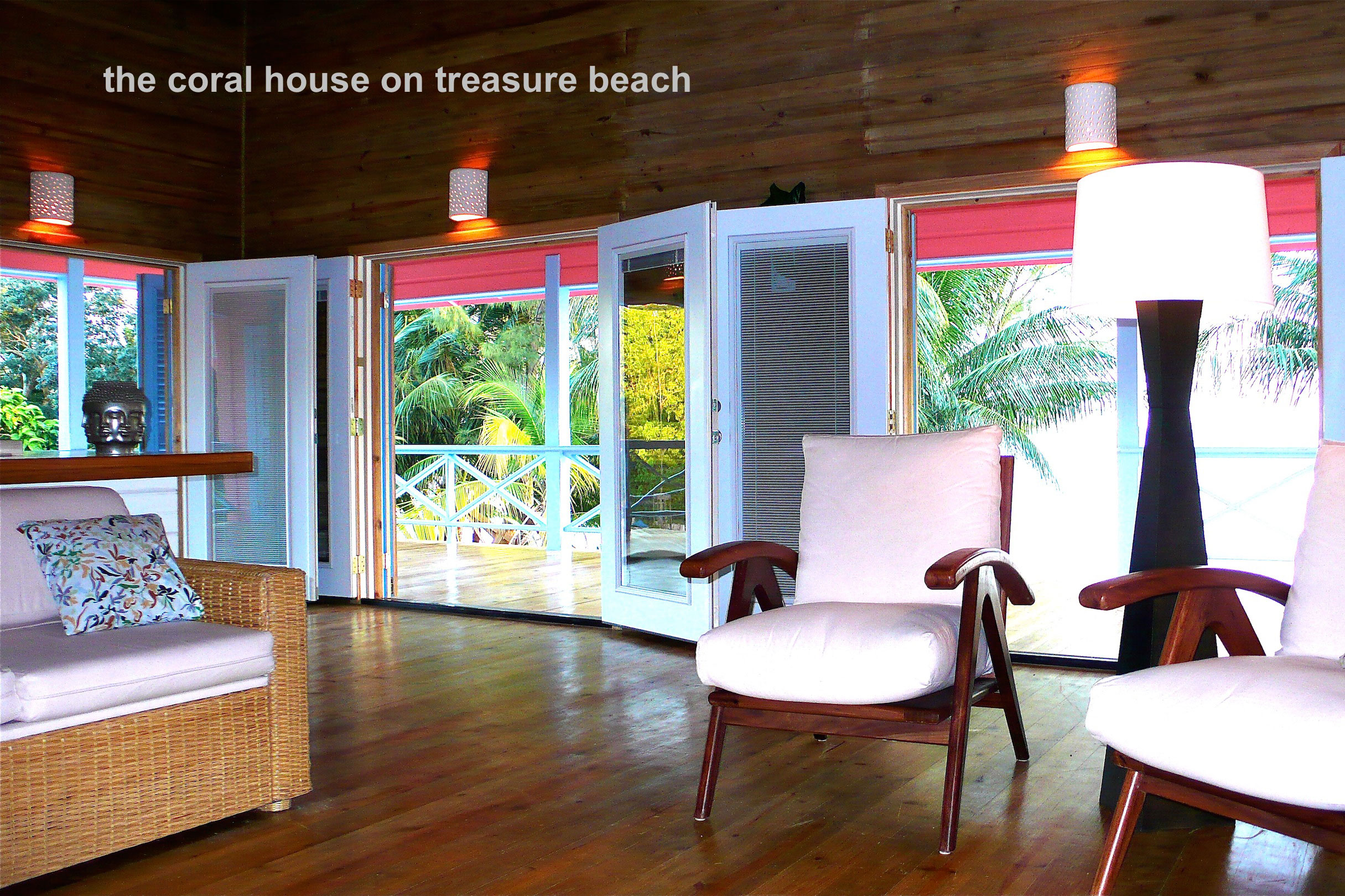 Coral House Living Room