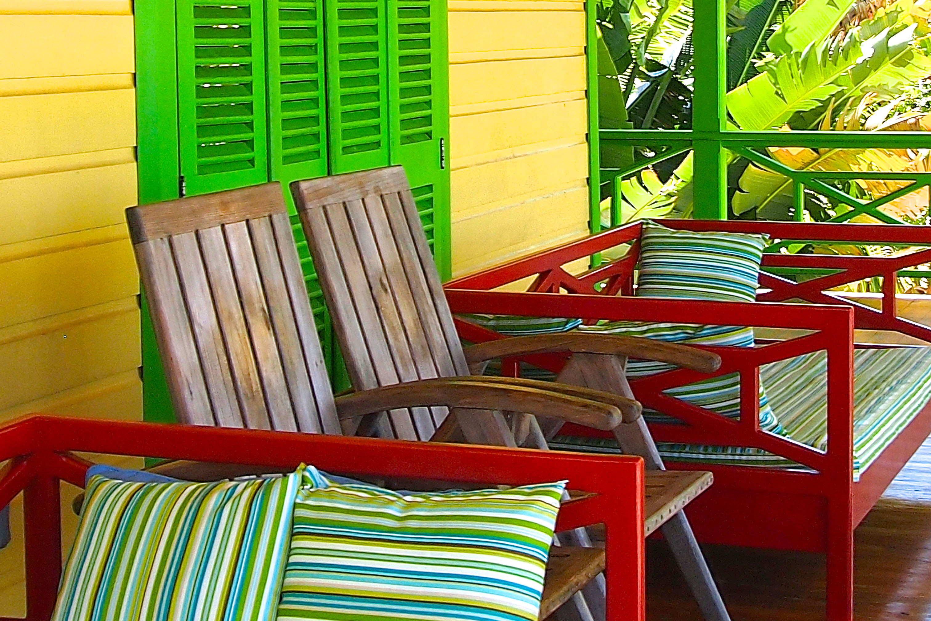 Pineapple House Deck