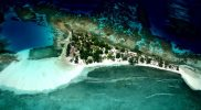 Water Caye Aerial